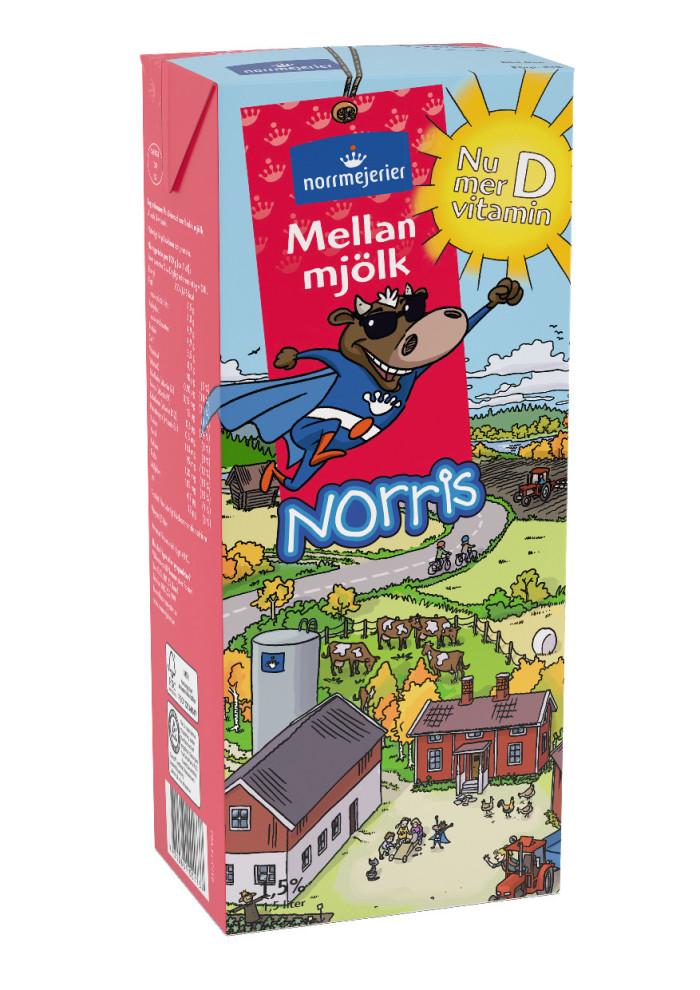 d vitamin i mjölk