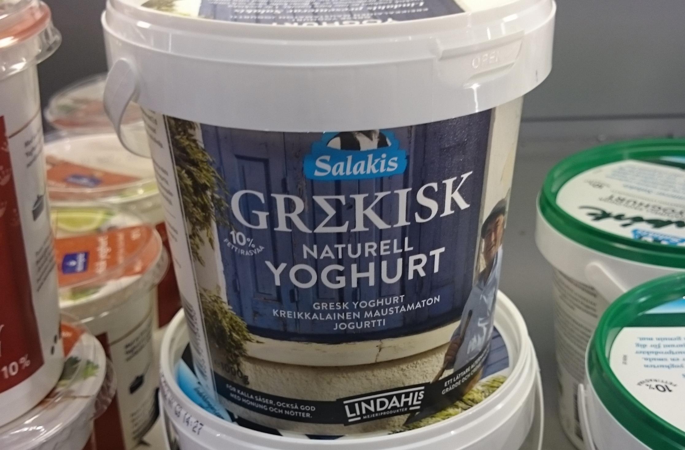 valio grekisk yoghurt