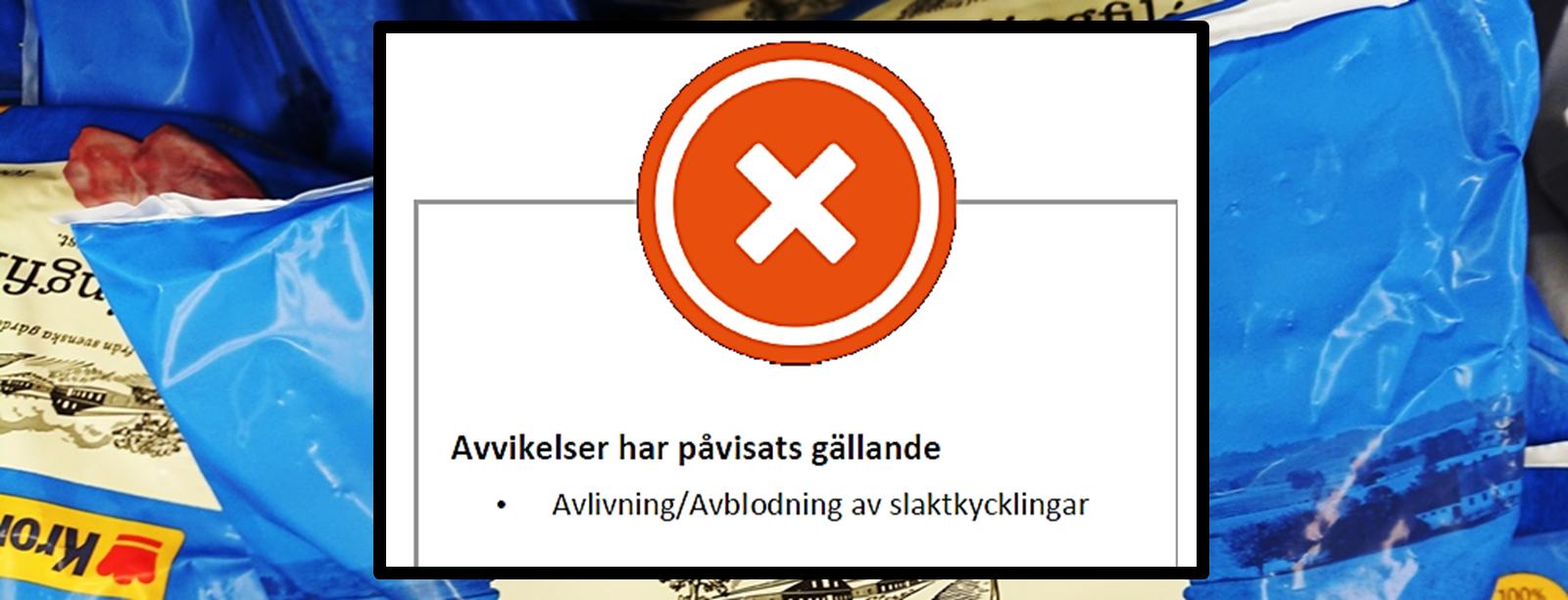 Uppgift Goteborg Slutar Att Bestalla Produkter Fran Kronfagel